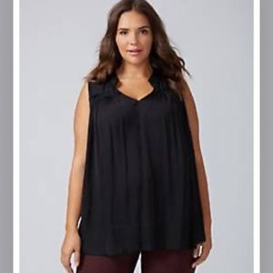 Lane Bryant-Swing Shell With Clean Seam-Size 16